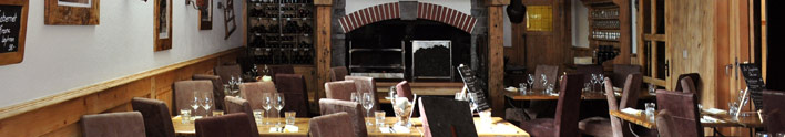 The Vieux Chalet Restaurant and lounge rooms